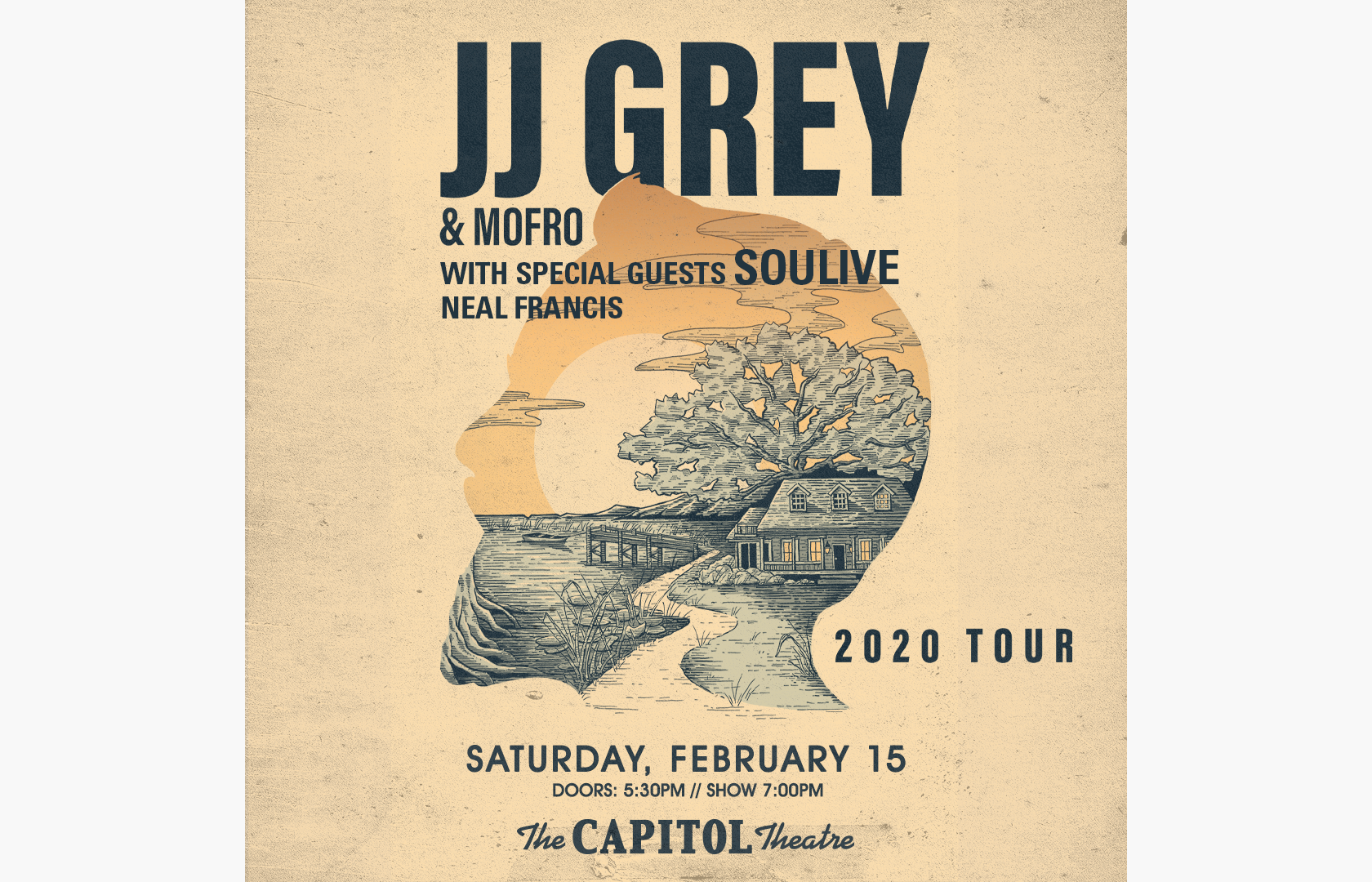 More Info for JJ Grey & Mofro + Soulive and Neal Francis