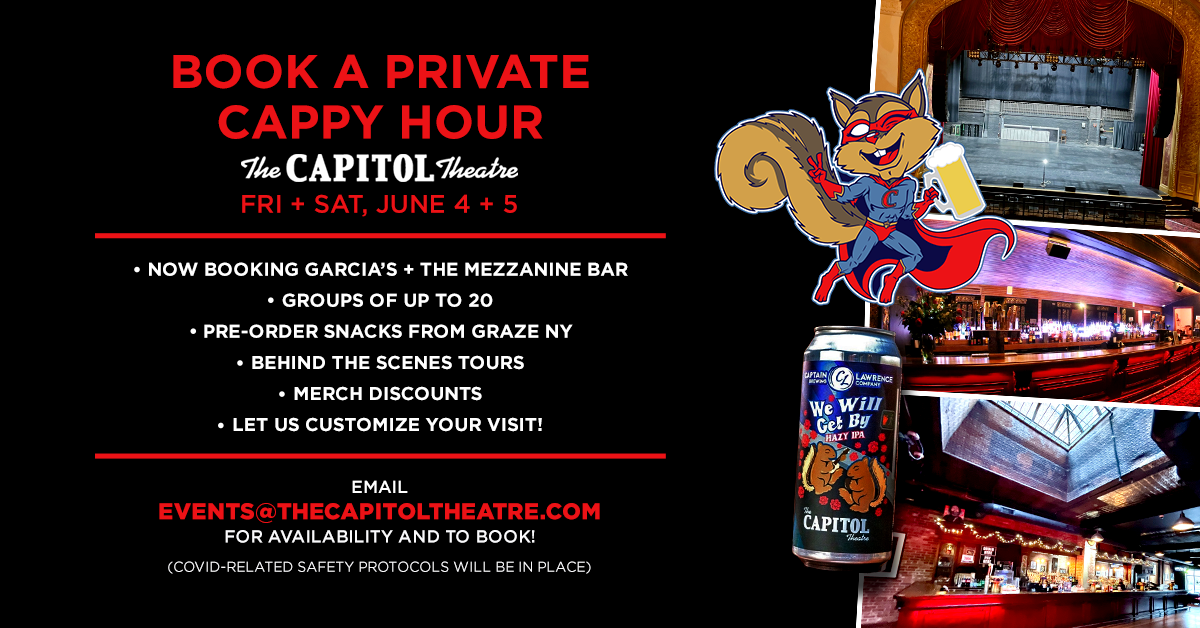 More Info for Book a Private Cappy Hour!