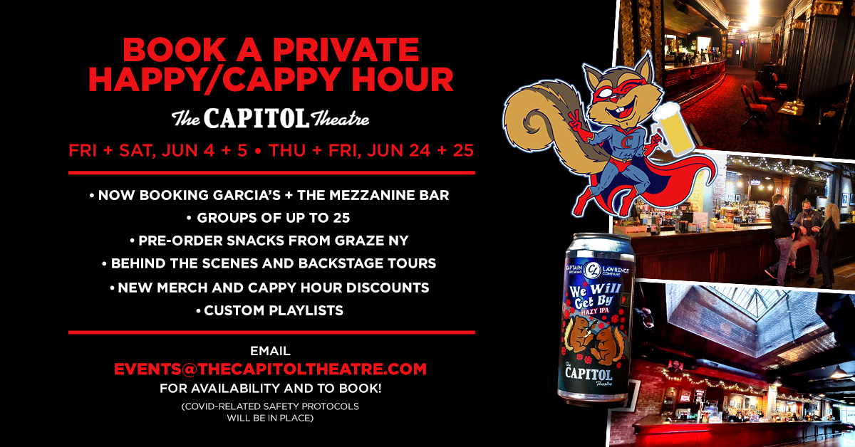 More Info for Book a Private Happy/Cappy Hour!