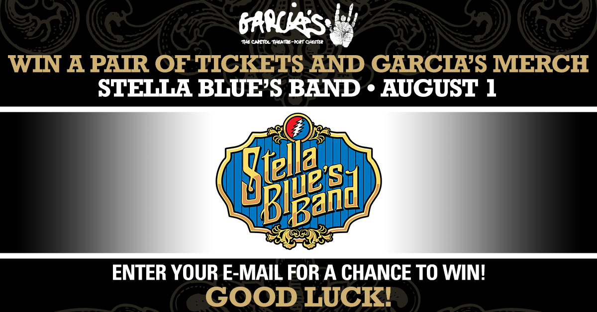 More Info for Win Garcia's Merch + Two Tickets to Stella Blue's Band at Garcia's on Sunday, August 1