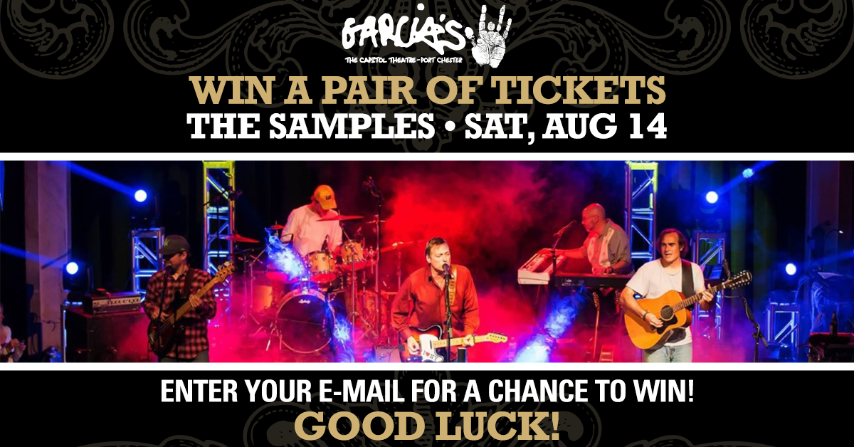 More Info for Enter To Win a Pair of Tickets to The Samples on SAT, AUG 14
