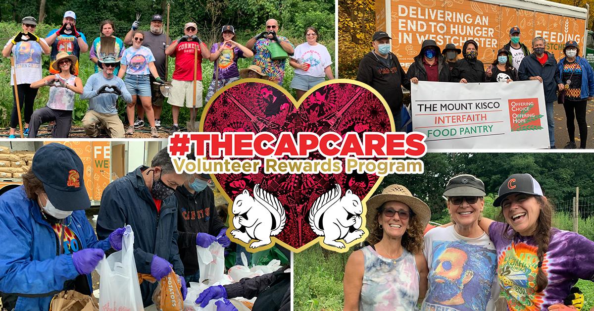 More Info for Announcing #TheCapCares Volunteer Rewards Program