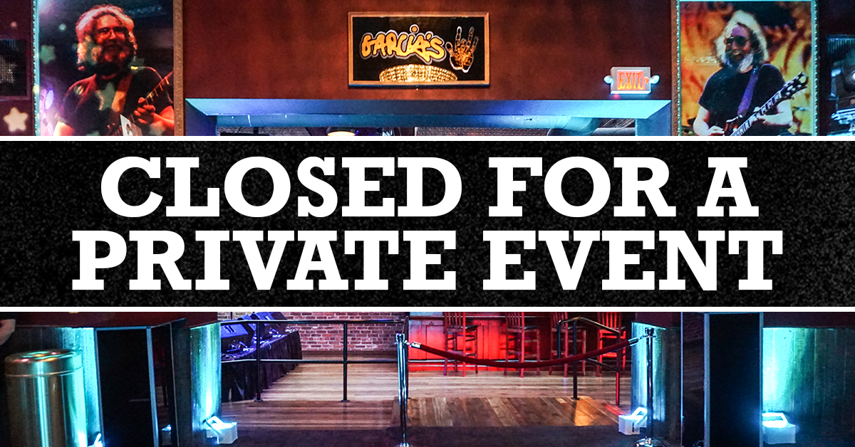 More Info for Closed for a Private Event