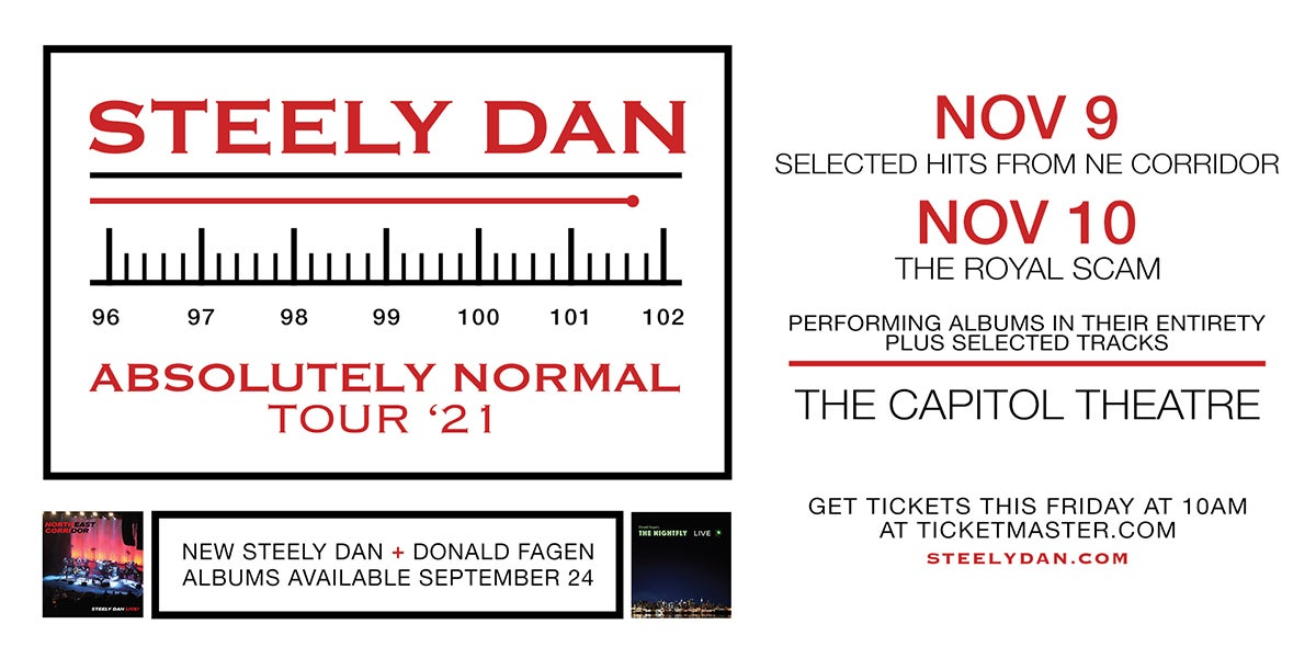 More Info for Steely Dan - The Absolutely Normal Tour