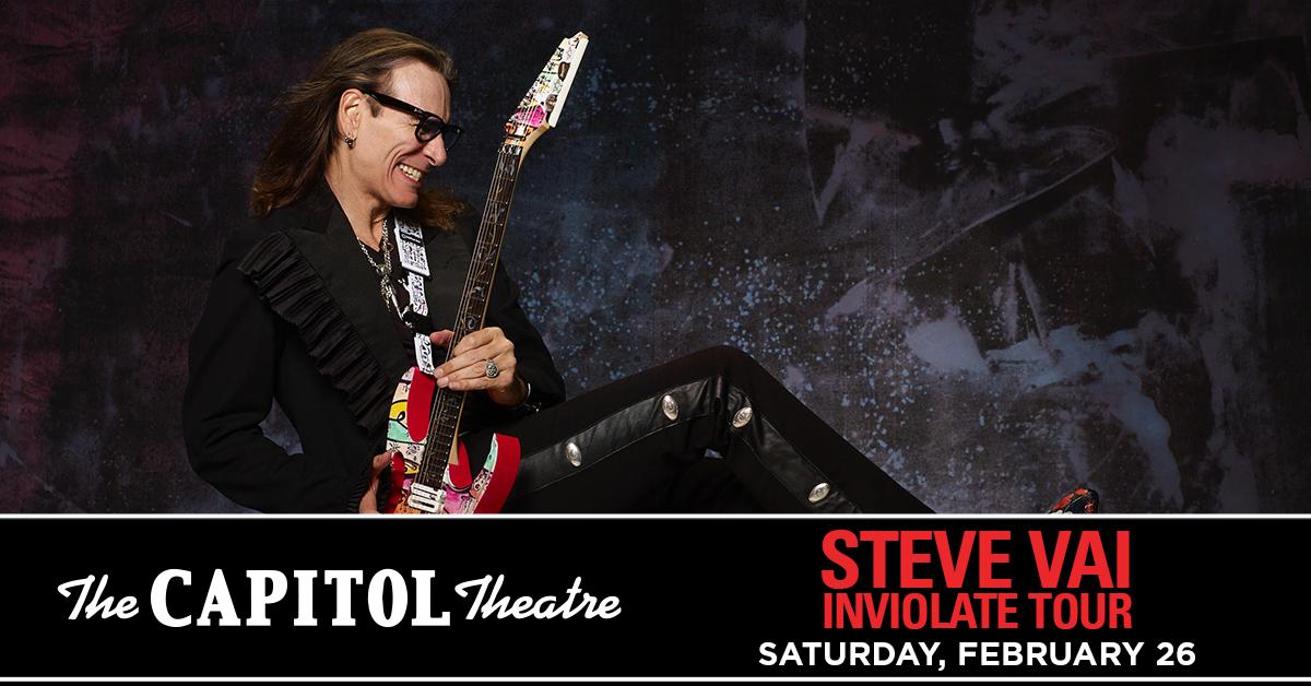 More Info for Steve Vai: Inviolate Tour