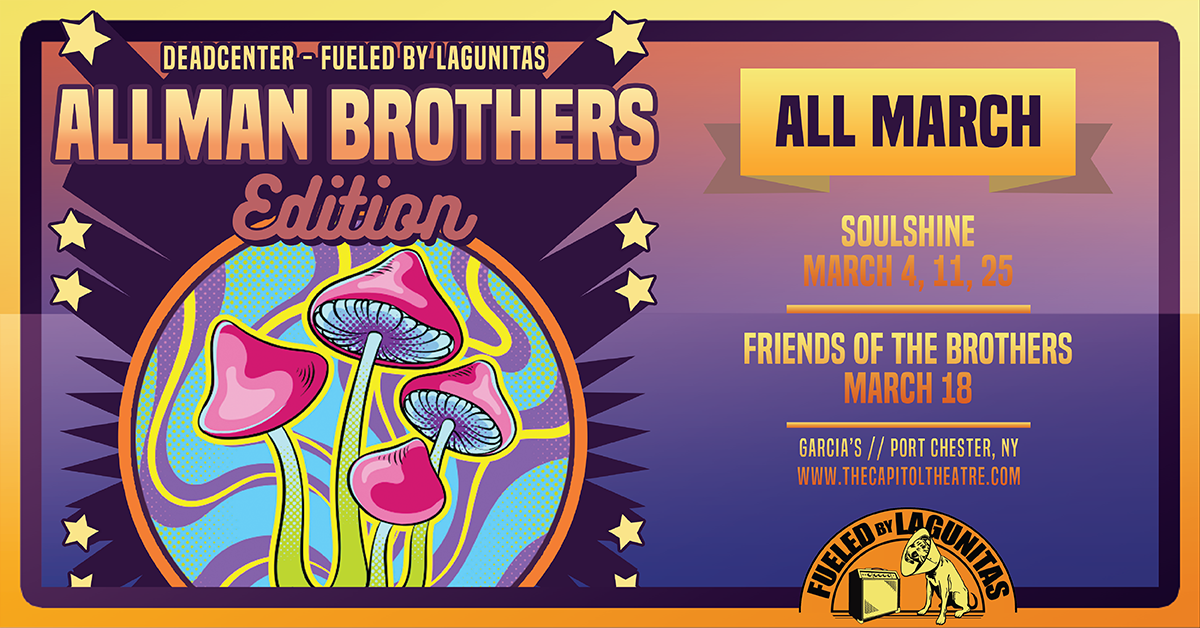 More Info for Celebrate the Allman Brothers at our AllmanCenter series every Wednesday in March!