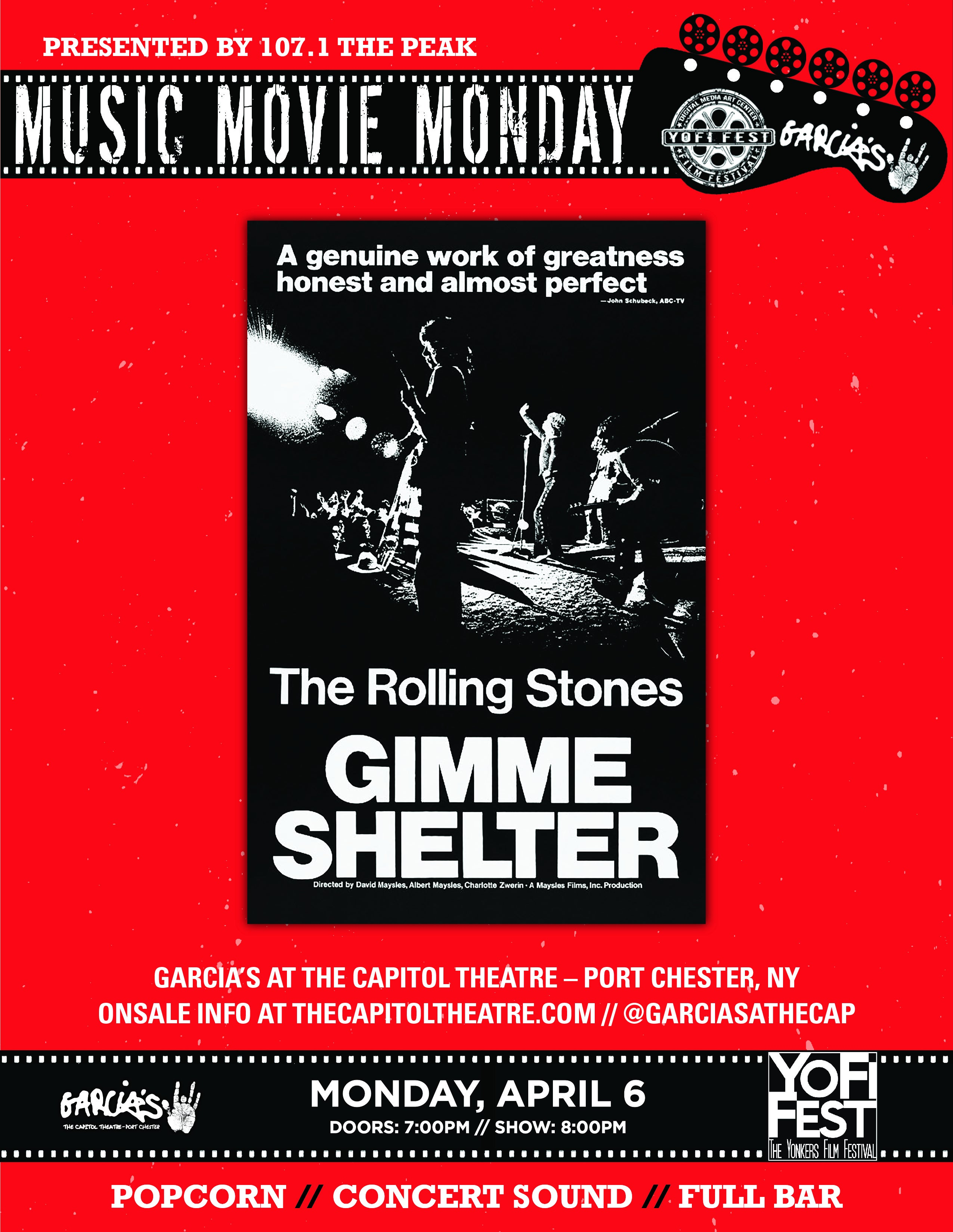 More Info for Music Movie Monday: Gimme Shelter