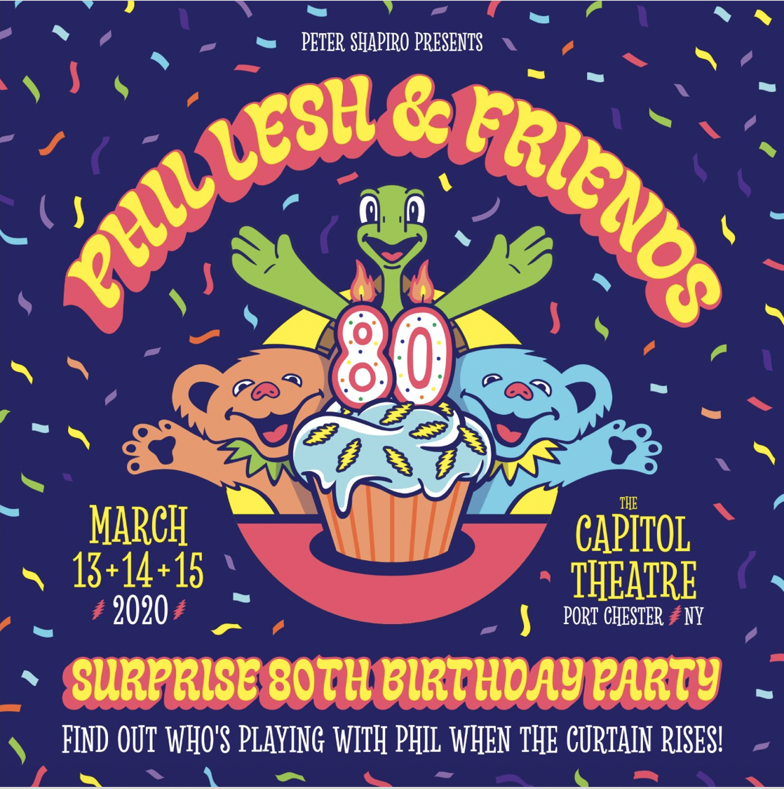 More Info for Phil Lesh & Friends Surprise 80th Birthday Party