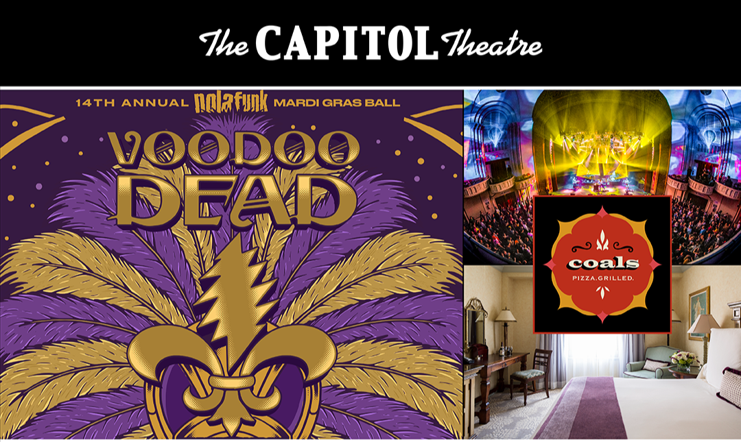 More Info for Enter to Win 2 GA Tickets to Voodoo Dead, Dinner for 2 at Coals, and a Deluxe Town View Room at Delamar Greenwich Harbor!