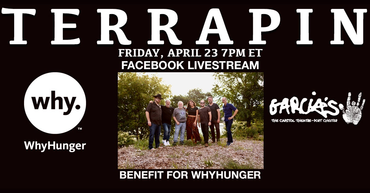 More Info for WhyHunger Benefit Livestream featuring Terrapin