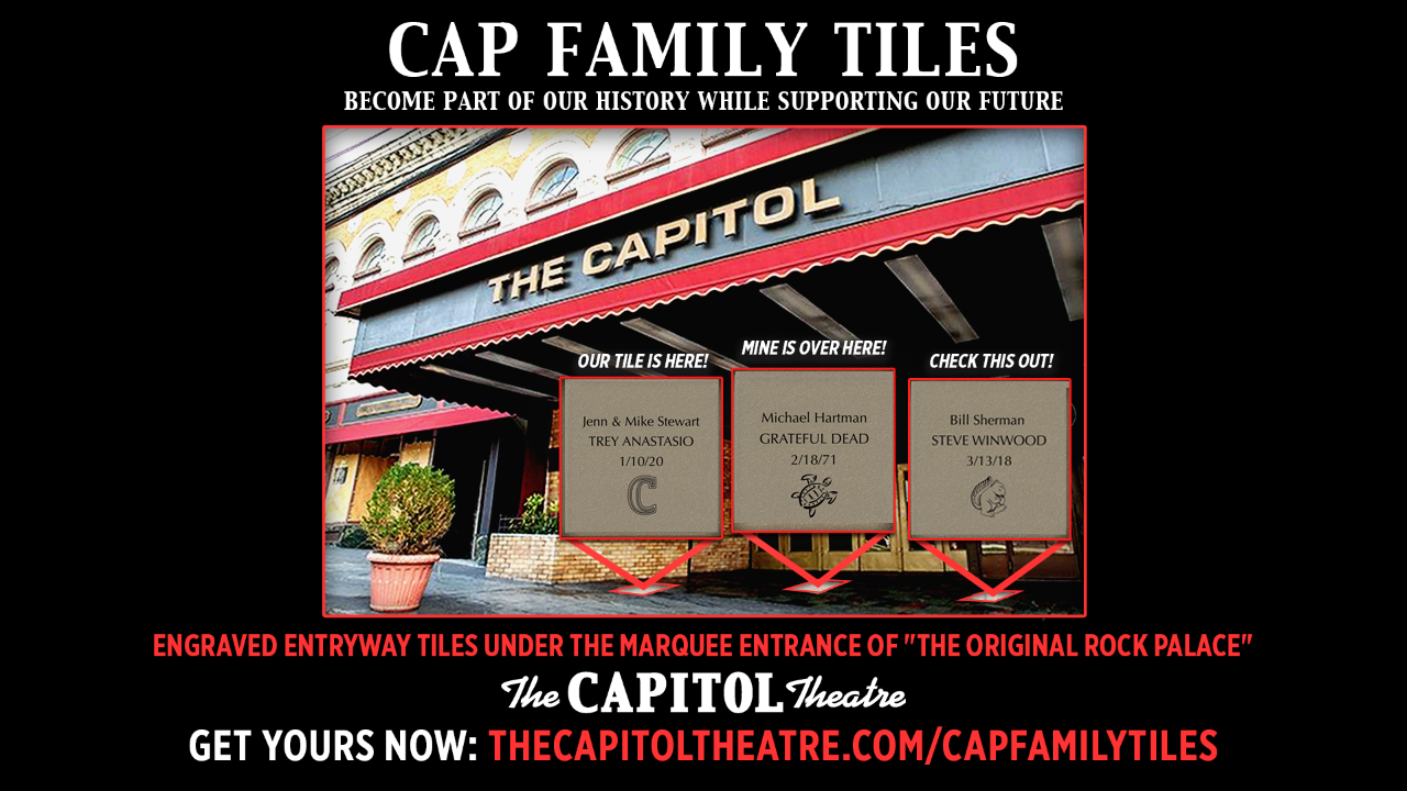 "More Info for Have Your Own ""Cap Family Tile"" Under Our Marquee!"